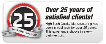 Over 25 years in business